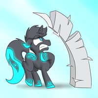 COMMISSION - Arc Light Paper Stack by timsplosion