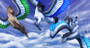 Free flight by zavraan