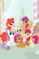 The New Mane Six by TheBowtiedMare