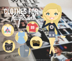 Clothes for pacific doll by bcofjustinbitch