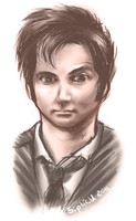 The Tenth Doctor by Siplick