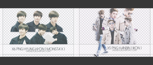 + PACK PNG HYUNGWON+HANBIN by msg2k3