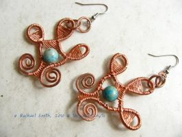 Egyptian Goddess Earrings by Delicious-Filth