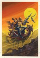 Punisher Empty Quarter cover 1993 by BillReinhold