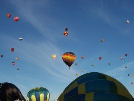 Balloons in the Wild: Balloon Fiesta 2011 by katerirose