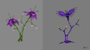Avatar inspired flowers by vanacal