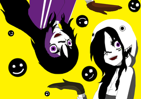 Matryoshka Jenn and Nina by JennTheKiiller