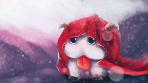 league of legends: Poro by L1nkoln