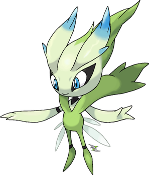 Celebi Eternal Forme - Fakemon by Xous54