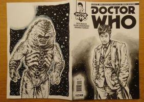 Tenth Doctor Front and Back by PAULSWAIN