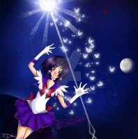 Pretty Guardian Sailor Saturn by VanDitch