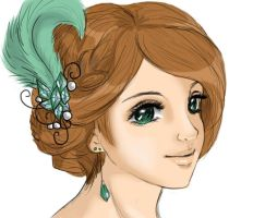 Bluegreen beauty by aqualin09