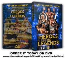 HEROES AND LEGENDS WRESTLING DVD by TheIronSkull