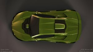 V12 supercar concept - Green Goblin - 6 by ollite20