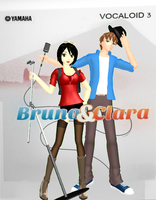 MMD: Bruno and Clara Boxart by FrenchiestToast