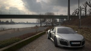 Audi R8 Number Two by brainspoon