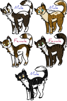 .:FitD:. Younglings Adopts - Closed by Allizia
