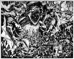 AQUAMAN Issue 04 Pages 06 and 07 by JoePrado2010