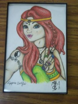 Hippy Selfie in Color by mSanchez89