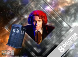 Doctor Who 50th Anniversary - The 8th Doctor by VortexVisuals