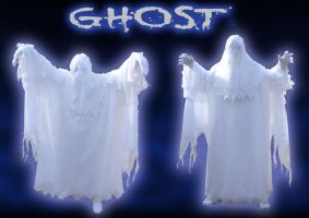 Halloween 2011 - Ghost by Slyrr