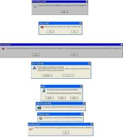 Funny Error Messages by MetalGriffen69