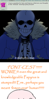 Undertale Ask: Sans and Papyrus question #8 by The-Star-Hunter