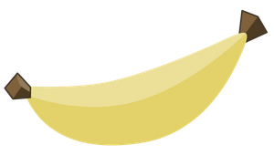 Banana - vector 57Mpx by SapphireBeam