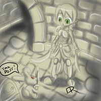 Dungeon sketch 1 by pinafta1
