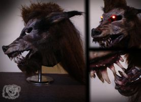 werewolf mask #1 by CreationMojo
