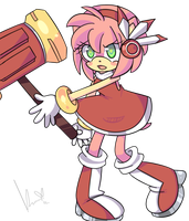 Amy Rose.:SA Dx version:. by AmyThornRose