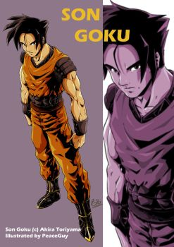 Remake: Son Goku by PeaceGuy