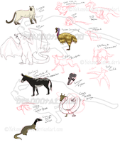 Random Animal Generator doodles by nekonotaishou