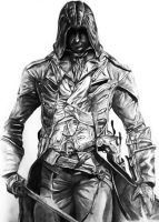 Assassin's Creed Unity, Arno Dorian by tronnfinn