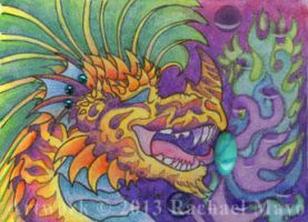 ACEO Jazzdragon 04 by rachaelm5