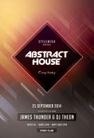 Abstract House Flyer by styleWish