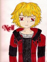 A New Beginning Neil Portrait by Xx-Angel-Sherubii-xX