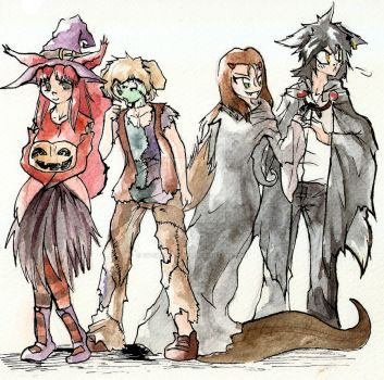 Happy Halloween! by Ey-chan-Y-Taipu