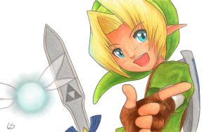 Link Line-Art Coloring by FoxfurNeo