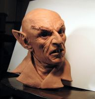Nosferatu bust by LocascioDesigns