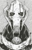 General Grievous Drawing by David-c2011
