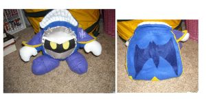 Meta Knight Plush by DonutTyphoon