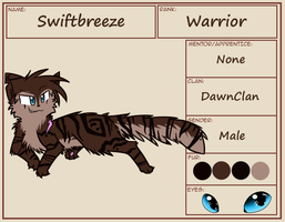 Swiftbreeze Reference Sheet :TWG: by MistDapple