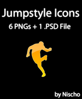6 Jumpstyle Icons by Nischo
