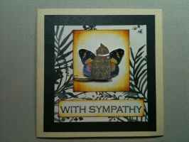 Cat Sympathy card 4 by MudgetMakes