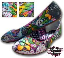 Pirate Candy Girl Shoes by marywinkler