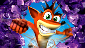 crash bandicoot psp wallpaper by 7chopsticks7
