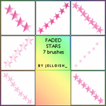 Brushes - Faded stars by greyskymorning