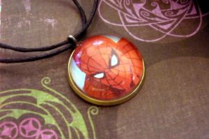 Spider-Man Comic Book Necklace by Sercive
