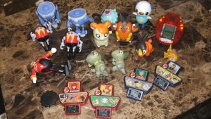 Eggman and Pokemon figures for sale by SEGAMew